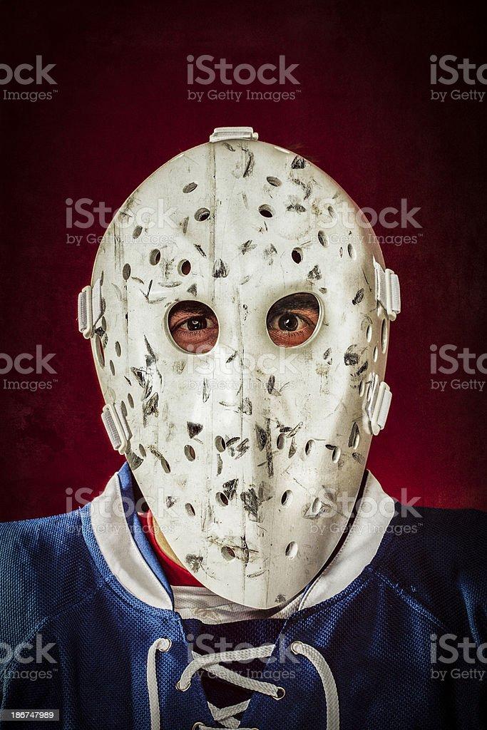 Experienced Goalie stock photo