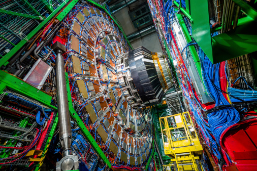 Cms Experiment Detector Muon Endcup Stock Photo - Download Image Now