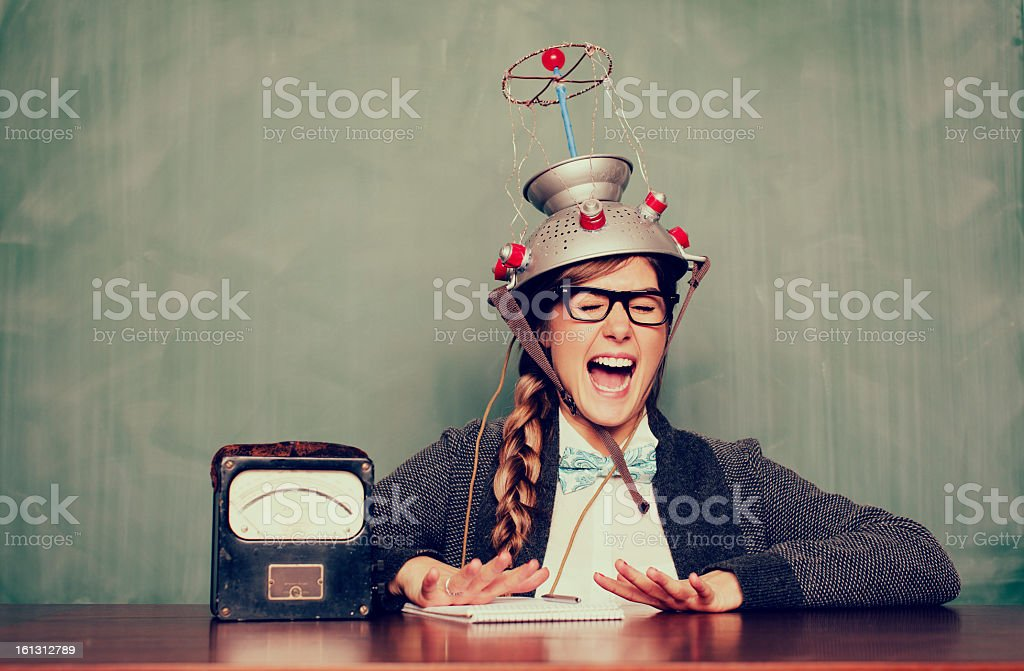 Experiments of the Mind royalty-free stock photo