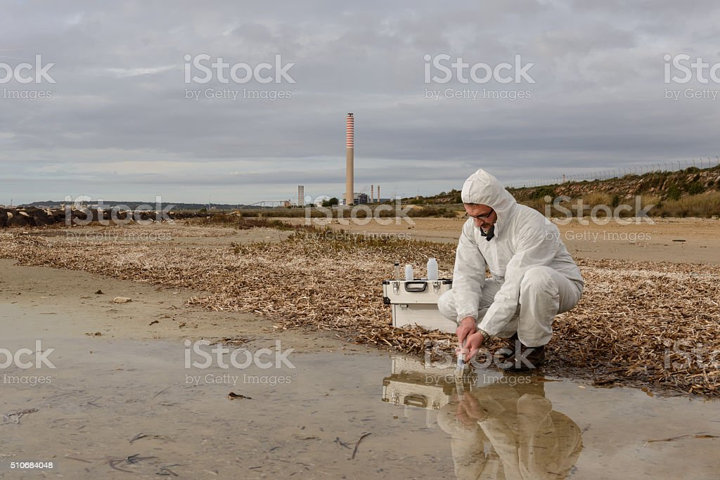 Expert Analyze the Water stock photo