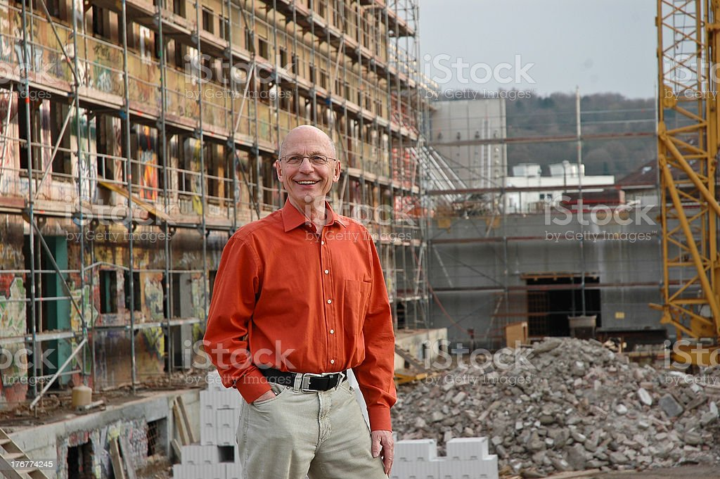 Expert Architect stock photo