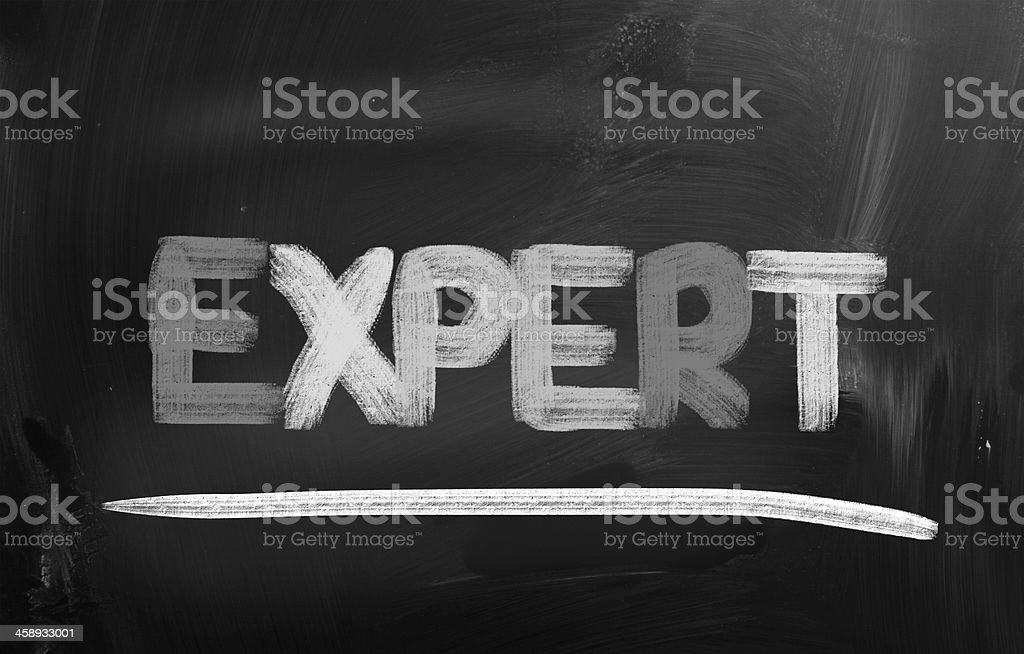 Expert Concept royalty-free stock photo