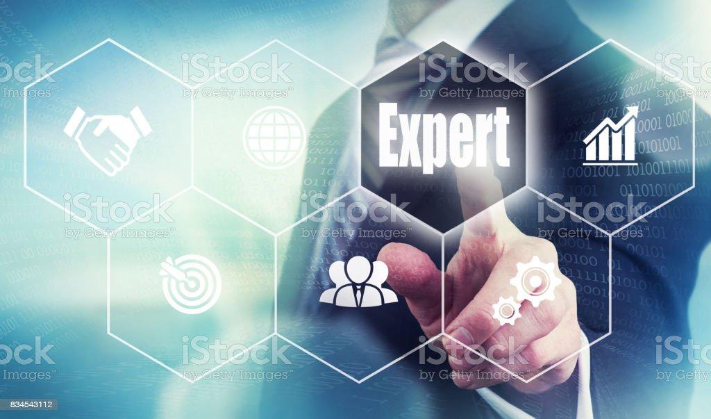 Expert Concept stock photo