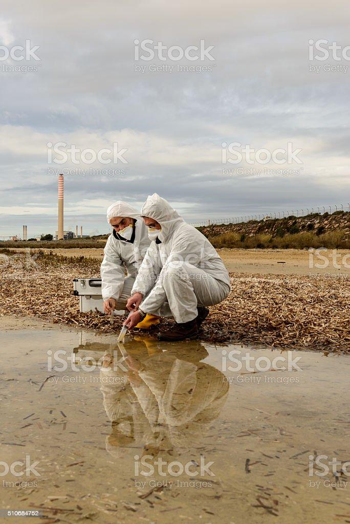 Experts Analysis Water stock photo