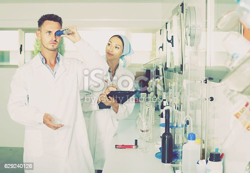 istock experts making tests in winery laboratory 629240126