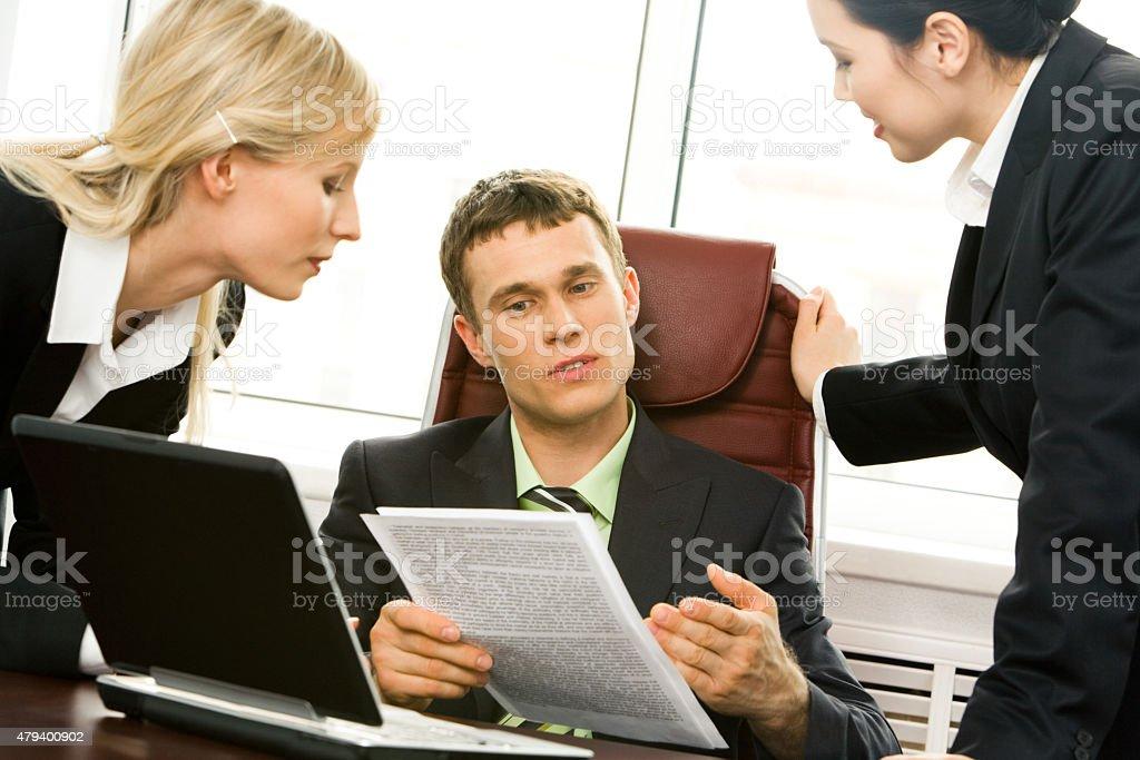 Neuen plan erklären Lizenzfreies stock-foto