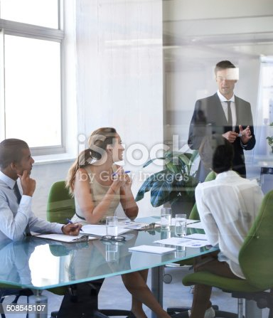 497451790 istock photo Explaining the strategy to the team 508545107