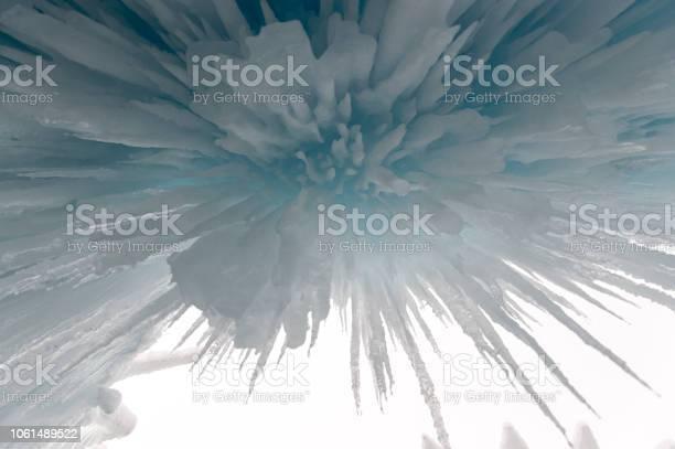 Photo of Exploding Ice Stalactites