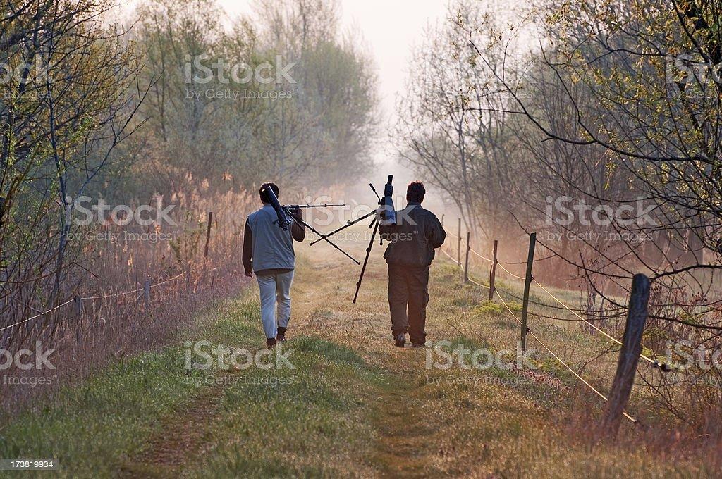 Explorers stock photo