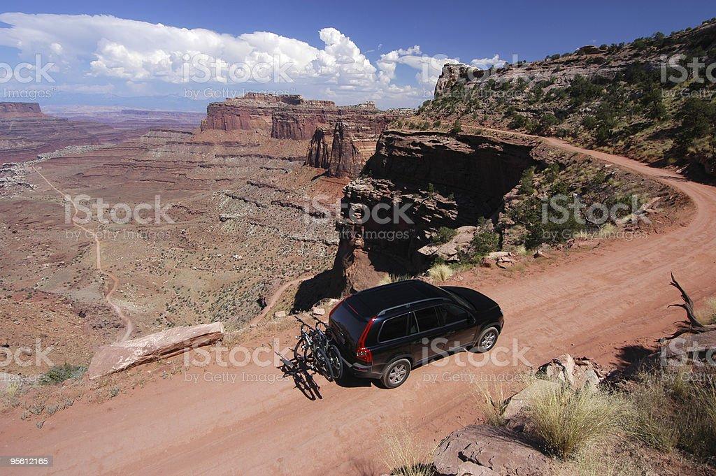 Exploring Canyonlands National Park stock photo