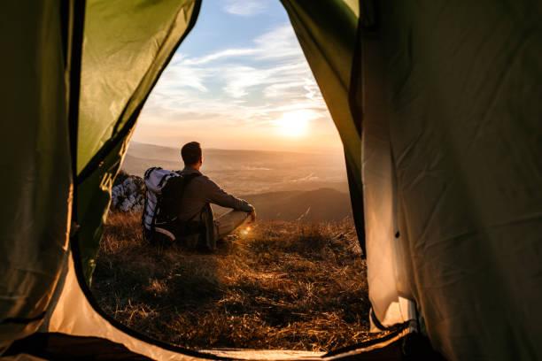 natur zu erforschen und eine pause - twilight teile stock-fotos und bilder