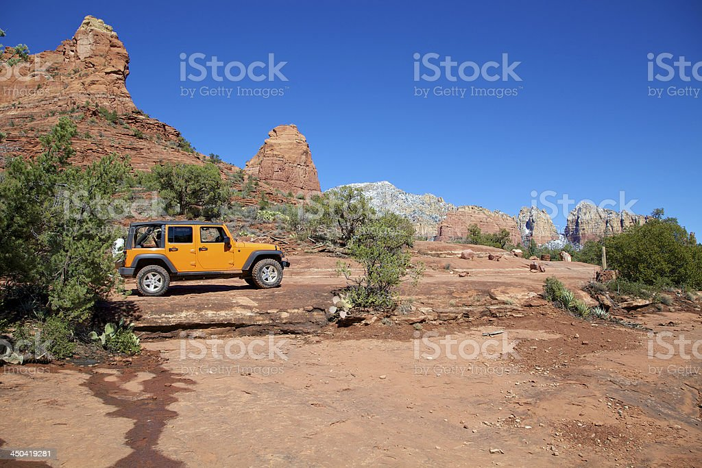 Exploring Sedona Red Rock Country stock photo