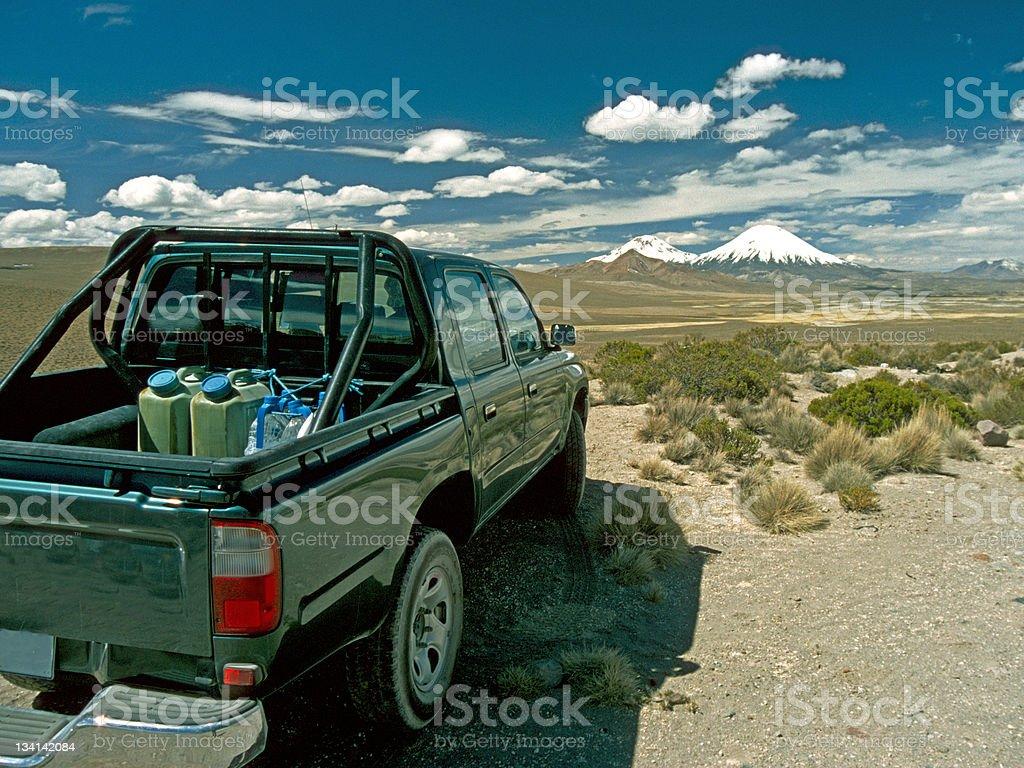 Exploring the Alptiplano royalty-free stock photo
