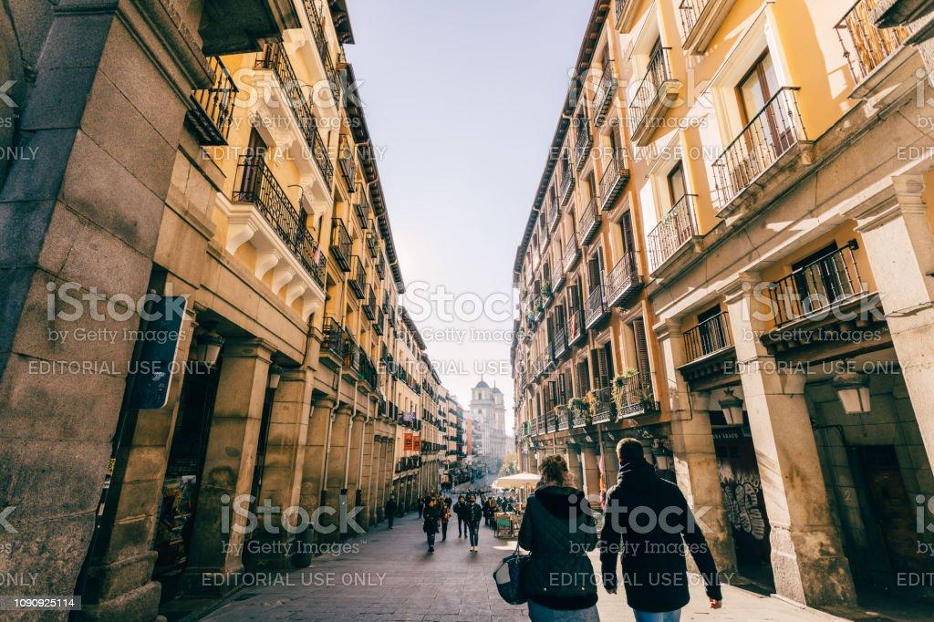 exploring the city stock photo
