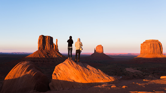 istock Exploring the Monument Valley 494348858
