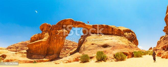 Exploring the Wadi Rum Desert - Um Frouth Rock Bridge