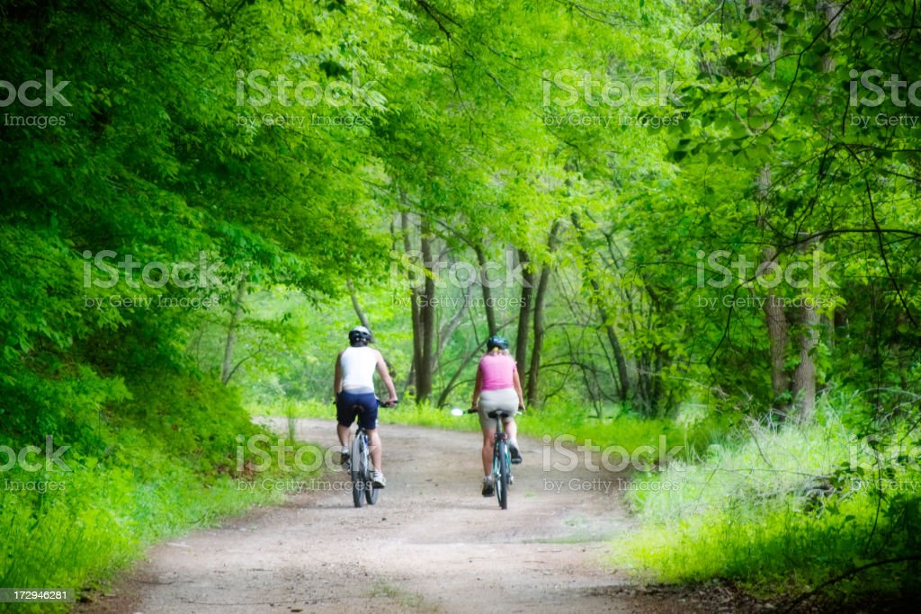 Exploring together royalty-free stock photo