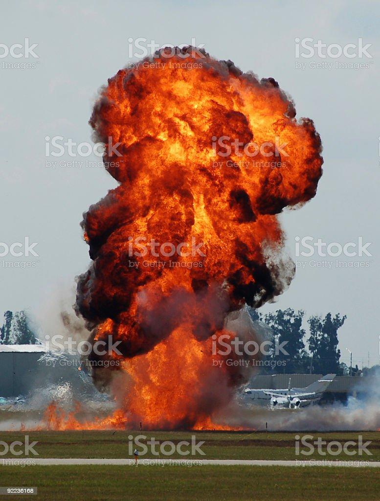 Explosion Flughafen