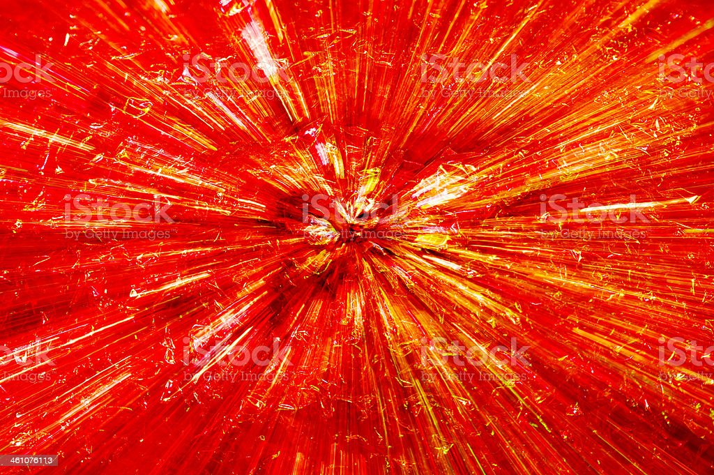 Explosion Effect Radial Light Zoom Blur royalty-free stock photo