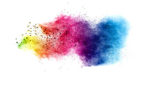 Explosion de poudre de couleur - Photo