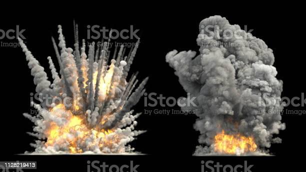 Photo of Explosion on ground