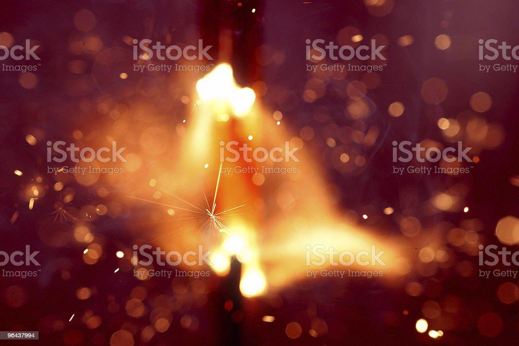 Explosion - Royalty-free Beschrijvende kleur Stockfoto