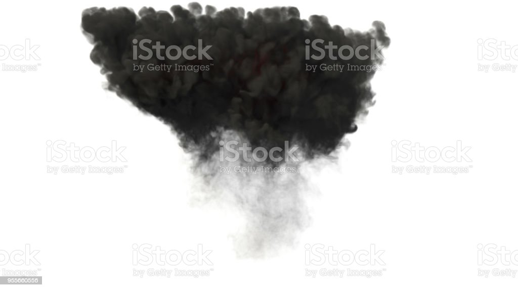 Explosion Smoke stock photo