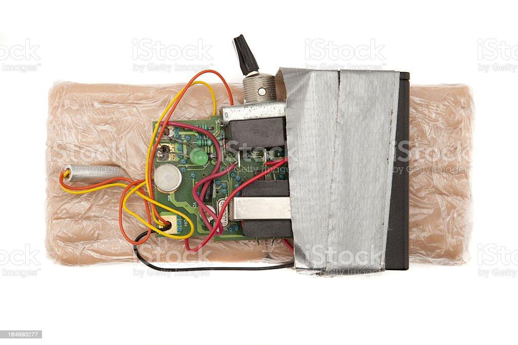 C4 Explosive Bomb stock photo