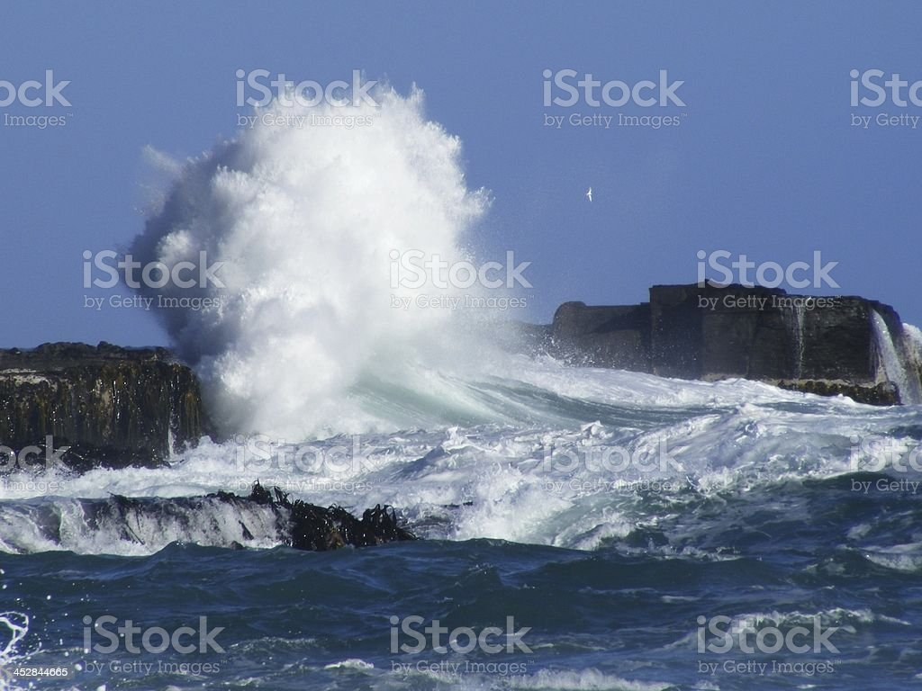Explosive Wave royalty-free stock photo