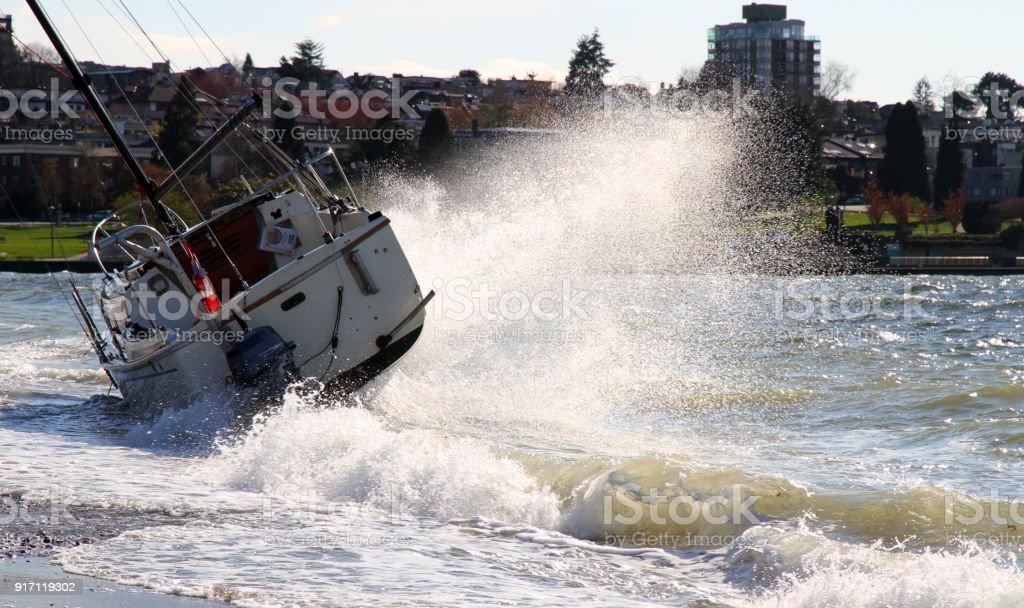 Explosive Wave stock photo
