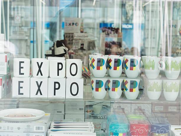 expo 2015-feeding the planet, energy for life, speisen - hotel mailand stock-fotos und bilder