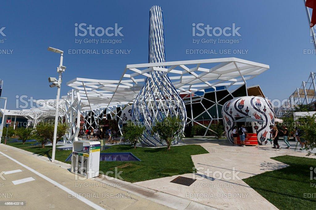 Expo 2015 Milan - Italy stock photo