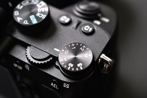 Exposure Dial on digital camera for exposure setting