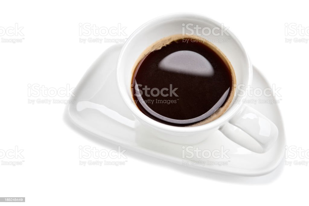 Expresso coffe cup stock photo