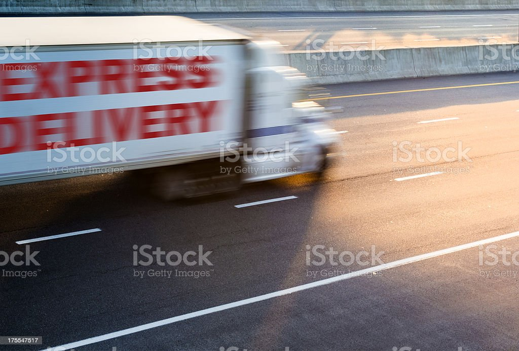 express delivery royalty-free stock photo