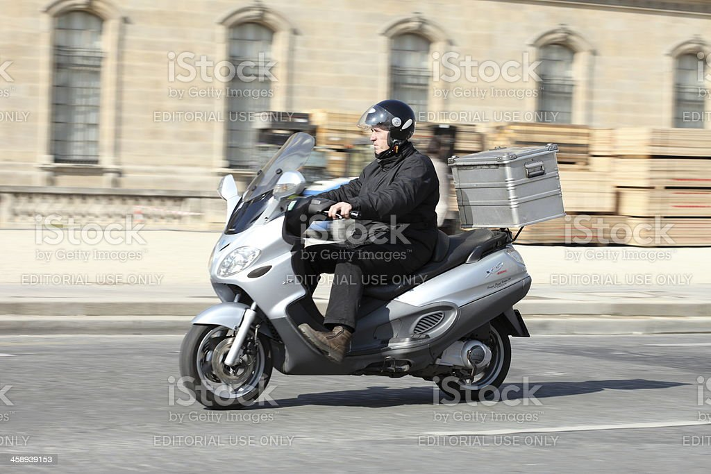 Express delivery stock photo