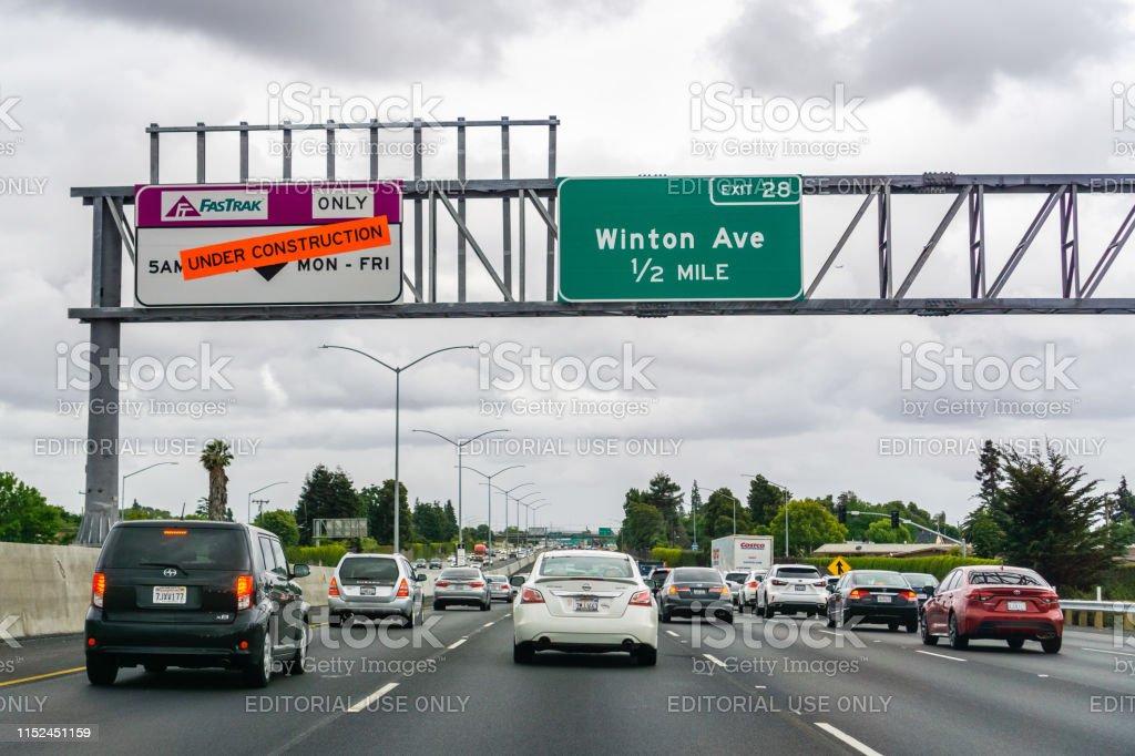 Express Lane California >> Express Lane Under Construction In East San Francisco Bay