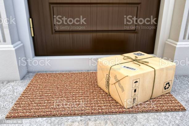 Express Package Delivery Service Concept Stock Photo - Download Image Now