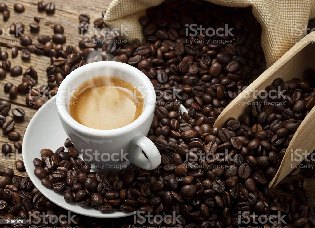 Espresso royalty-free stock photo
