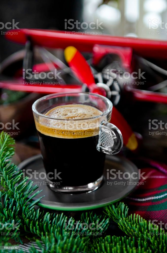 Expresso Plane royalty-free stock photo