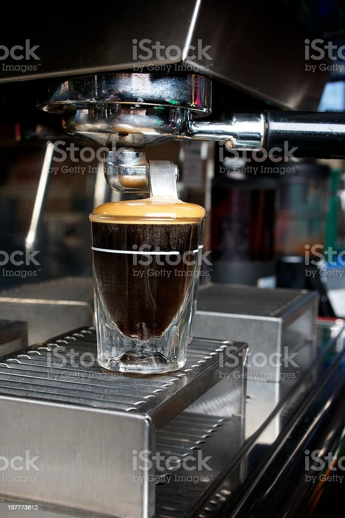 Expresso shots royalty-free stock photo