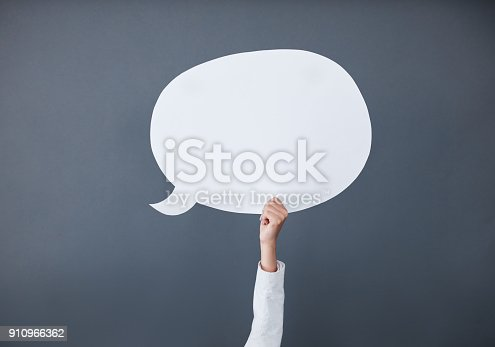istock Express your message on here 910966362