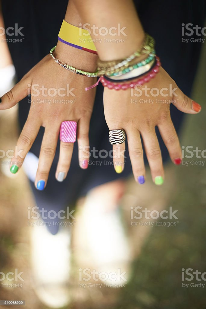 Express yourself stock photo