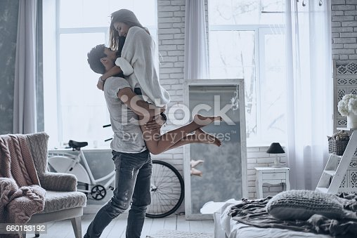 istock Expressing their love. 660183192