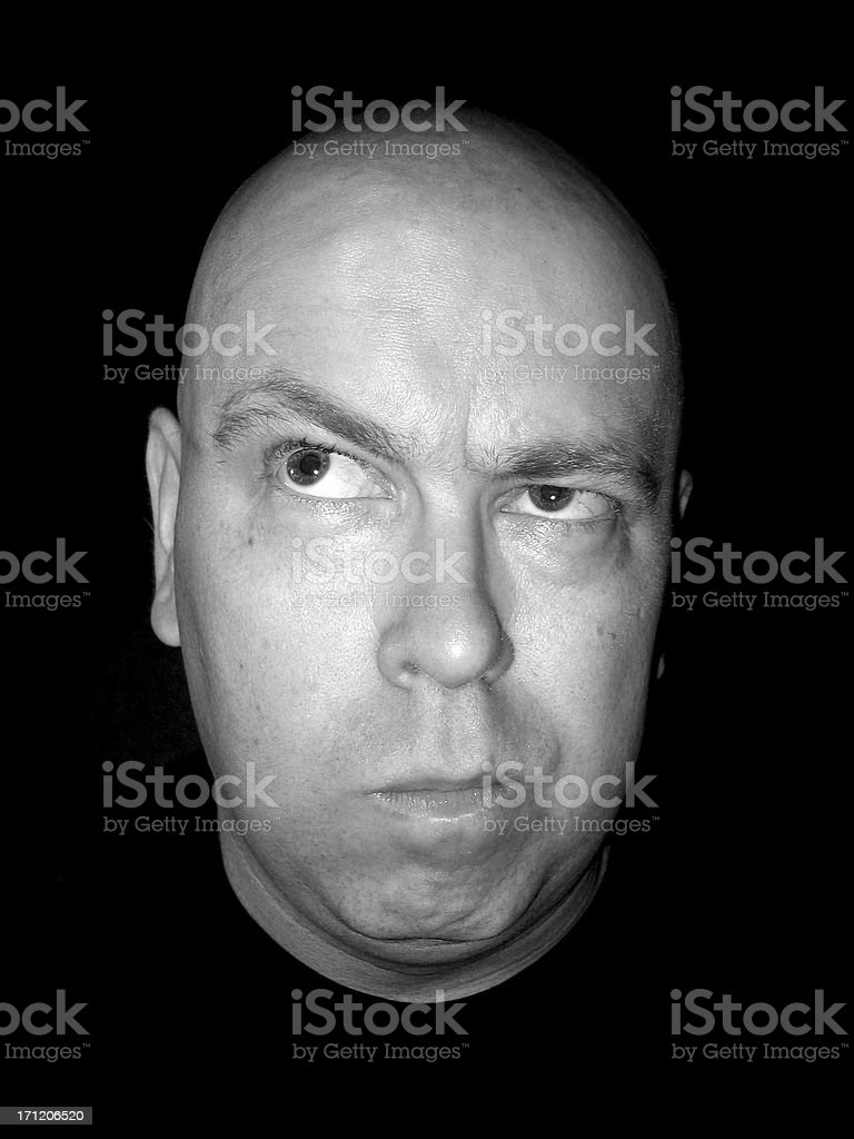 Expression: Confused royalty-free stock photo