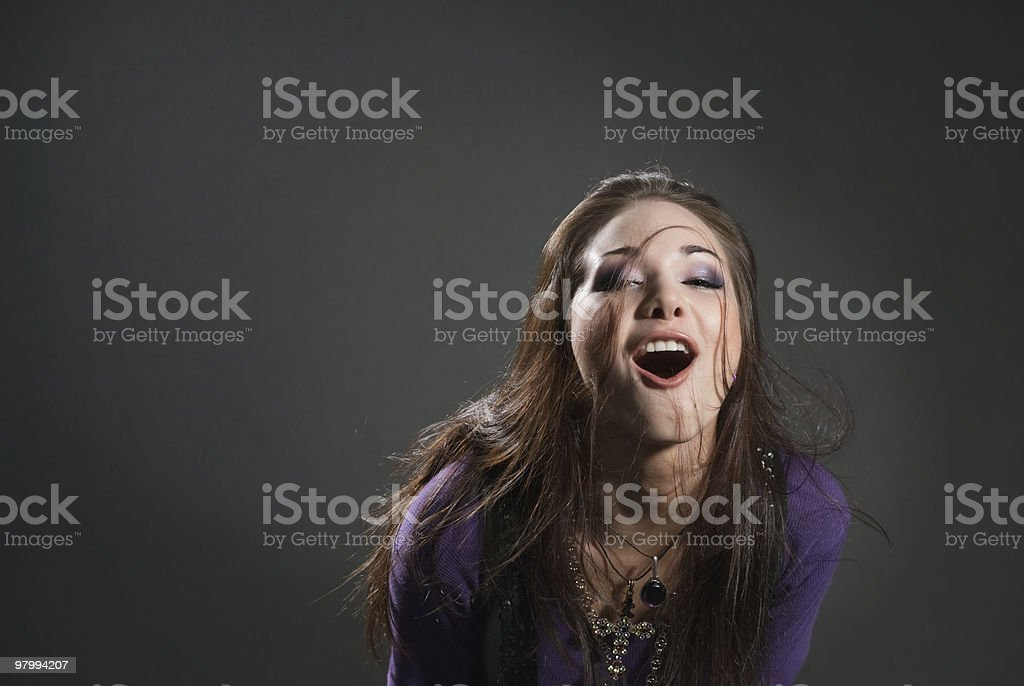 expression girl royalty free stockfoto