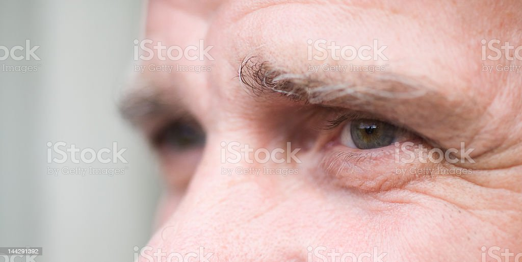Expression of eyes royalty-free stock photo