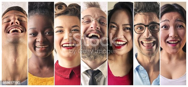 istock Expressions of happiness 668617150