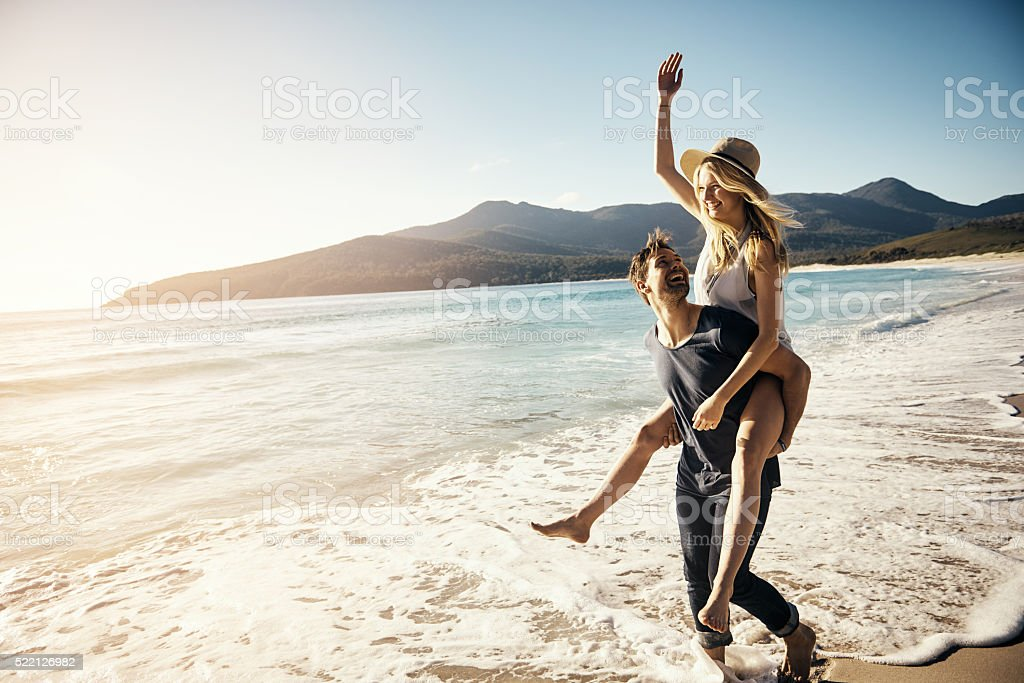 Expressions of true love stock photo