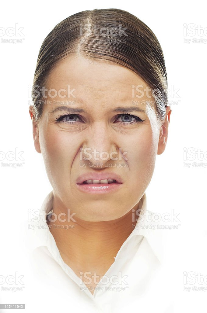 expressive face stock photo